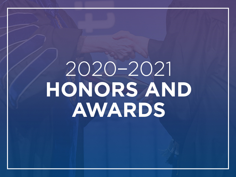 GWC congratulates 2020-2021 student honors and awards recipients