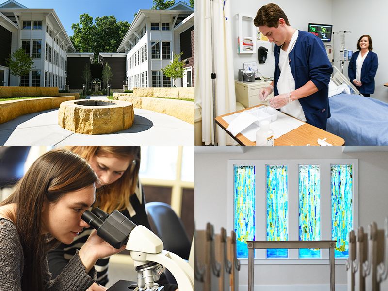 Campus enhancements inspire learning